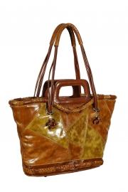 6600. оригинальная кожаная сумка в виде корзинки эксклюзивного дизайна.  Сумка женская Bi 36.