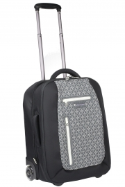 Sherpani Чемодан женский Voyager LE Upright S pewter/black