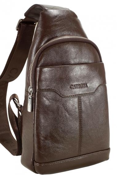 22baf86147c7 Catiroya рюкзак мужской однолямочный Ct6622 brown