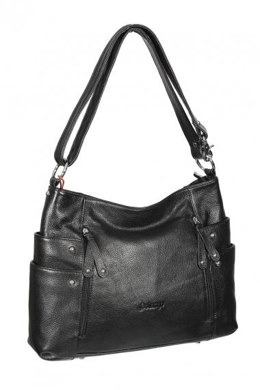 99a0e2a1fe15 Сумка женская Solange 9810 leather black